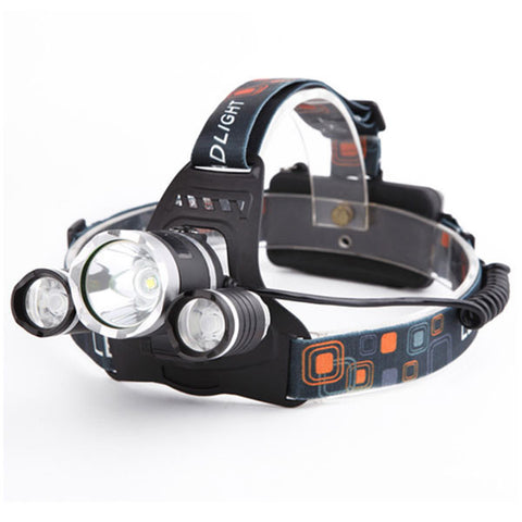 LED Headlight With Battery And Chargers