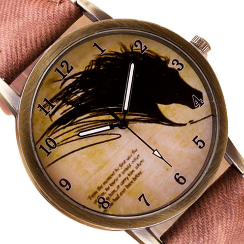 Vintage Horse Watch FREE