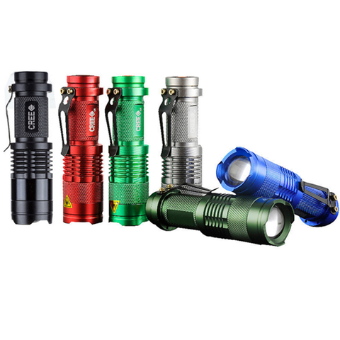 Mini Waterproof LED Flashlight 2000LM