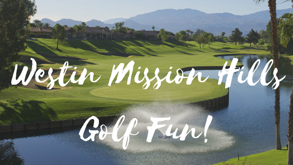 Westin Mission Hills: Swinging Spa Golf Lesson