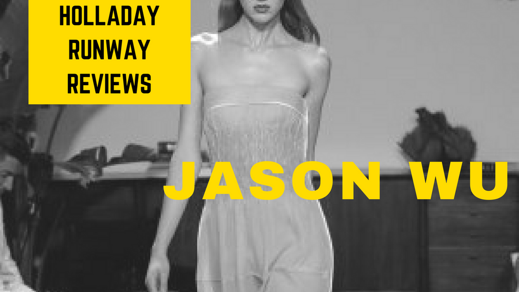 Wooed! Jason Wu New York Fashion Week Review