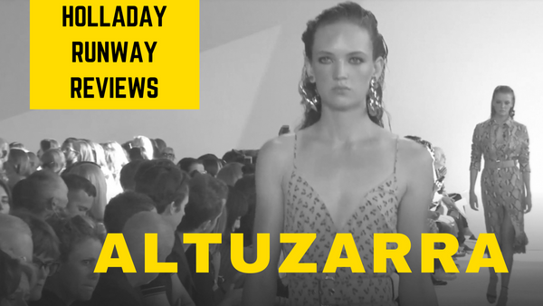Altuzarra:  Cherries Jubilee!  New York Fashion Week Show Review