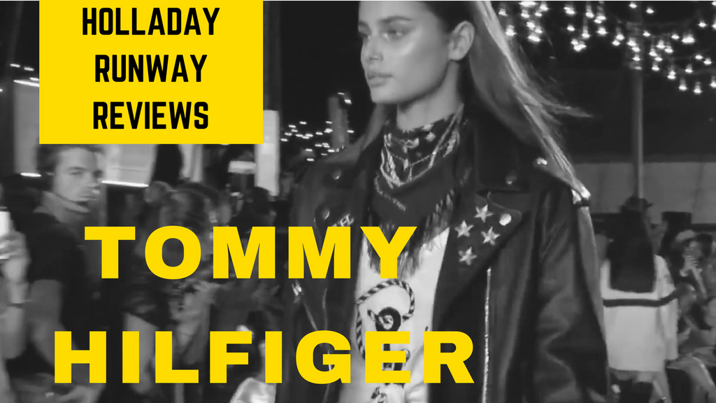Moto meets Navy! Tommy Hilfiger New York Fashion Week Review feat Gigi Hadid's collection