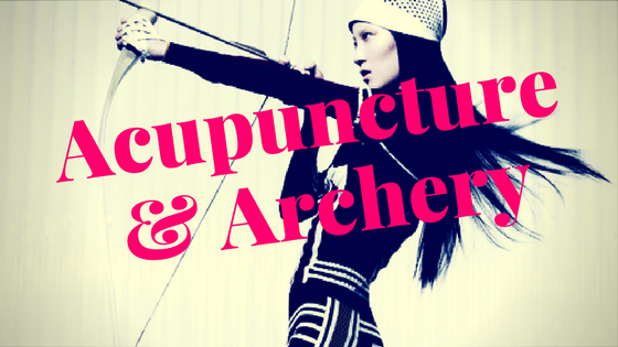 Pointy Objects: Acupuncture & Archery at Golden Door Spa