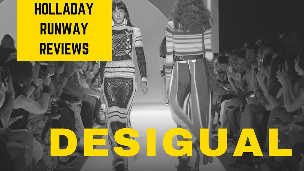 Holladay Runway: Desigual Spring 2017 Review at NYFW Autumn 2016