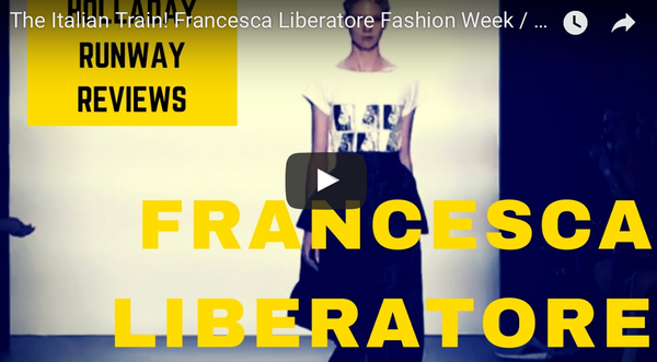 The Italian Train! Francesca Liberatore New York Fashion Week Show Review