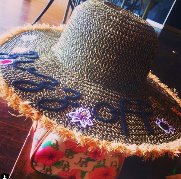 A Honey of a Summer Spa & Sun Hat (Shop It)
