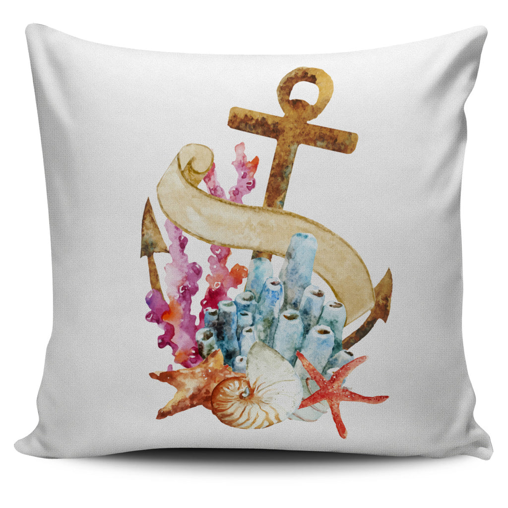 Anchor Pillow Cover