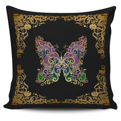 Pattern Butterfly Pillow Cover - FREE Shipping