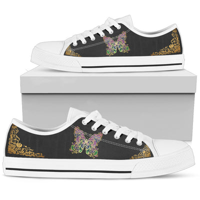 Women's Shoes Butterfly Pattern