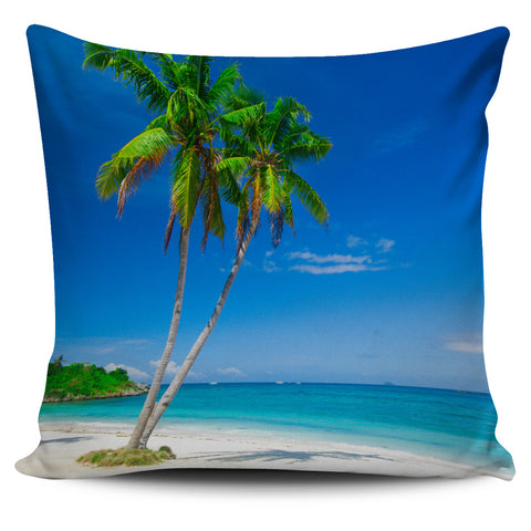 Palm Tree Pillow Cover