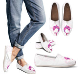 Pink Dolphin Pattern Casual Shoes - FREE SHIPPING