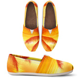 Orange Palms Casual Shoes - FREE SHIPPING