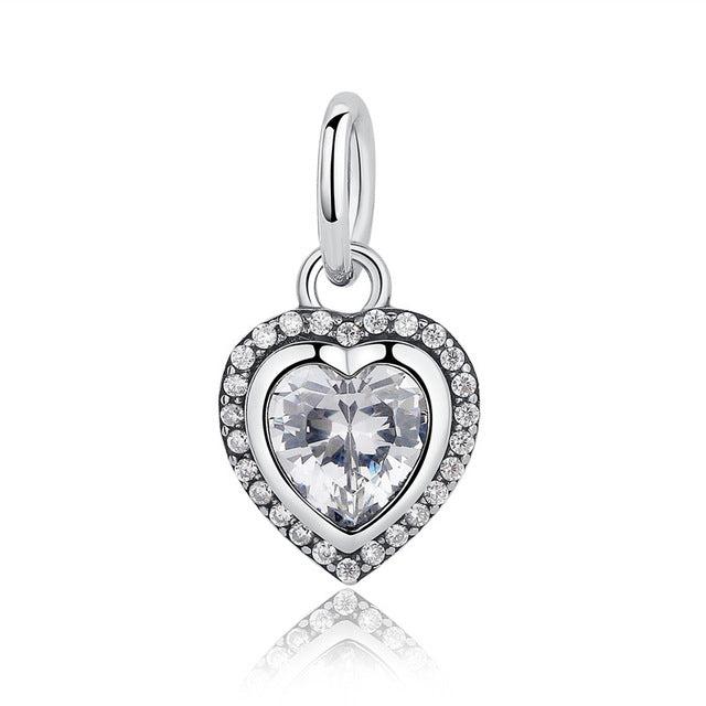 Glam Heart Charm  - FREE Shipping