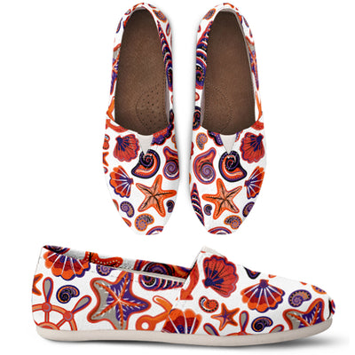 Orange Ocean Casual Shoes - FREE SHIPPING