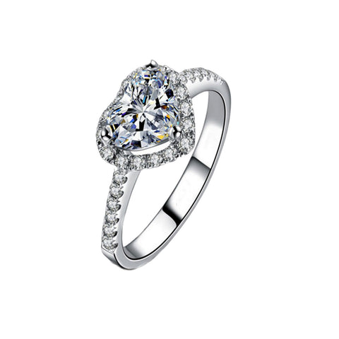 Glam Heart Ring - 75% Off - Limited Time