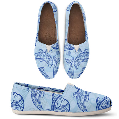 Dolphin Pattern Casual Shoes - FREE SHIPPING