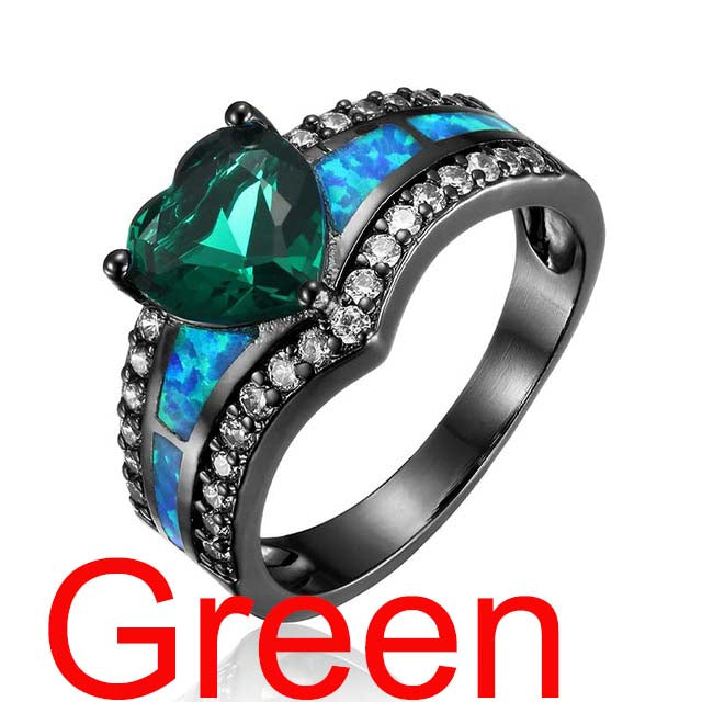 50% OFF - Queen Crystal and Opal Ring - Plus FREE Shipping