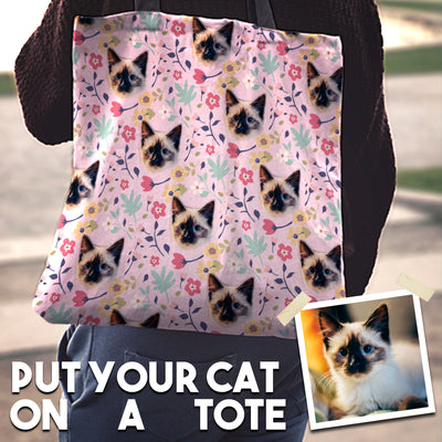 Custom Cat Tote