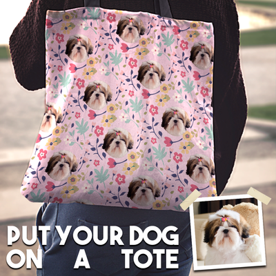Custom Dog Tote