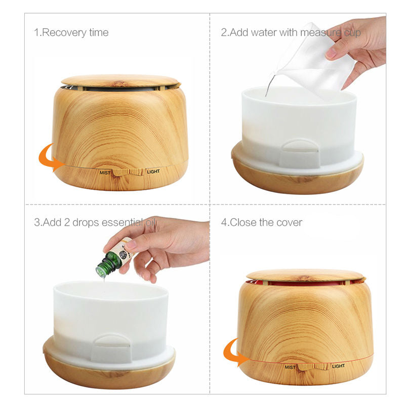 Ultrasonic Humidifier - FREE Shipping