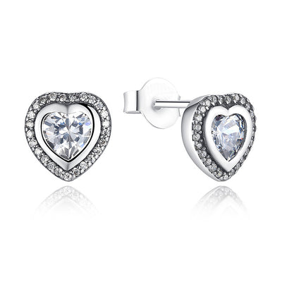 Glam Heart Earring - FREE Shipping