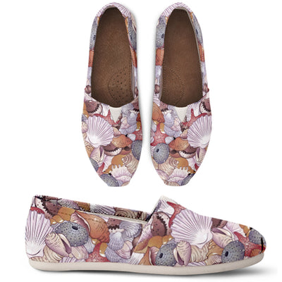 Purple Pastel Ocean Casual Shoes - Free Shipping