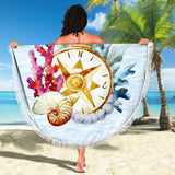 Ocean Compass Beach Blanket