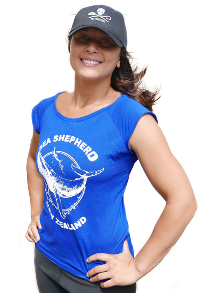Sea Shepherd NZ Classic Organic Cotton / Bamboo Tee - Women's
