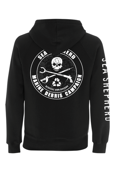 Operation Marine Debris 100% Organic Cotton Full Zip Hoody