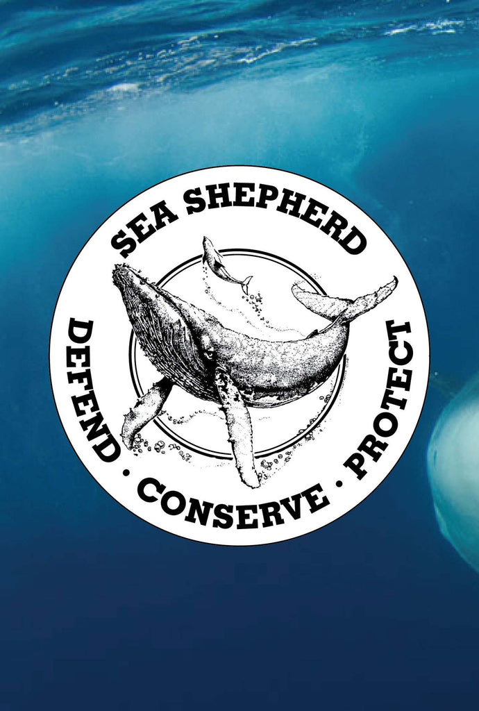 Sea Shepherd Logo Sticker Pack of 5