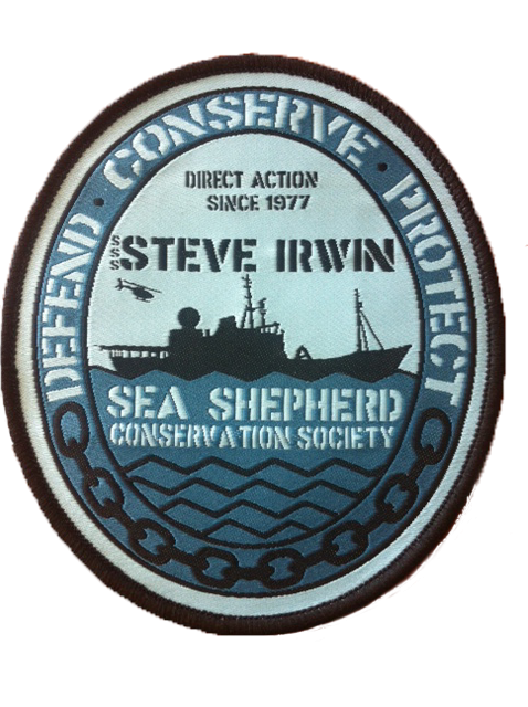 Steve Irwin Ships Patch