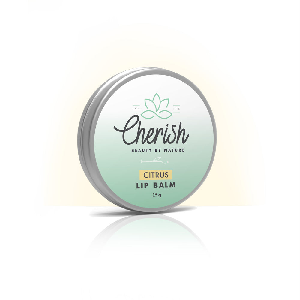 Lip Balm - Citrus, Lip Care, Cherish Beauty by Nature - Natural Beauty Products