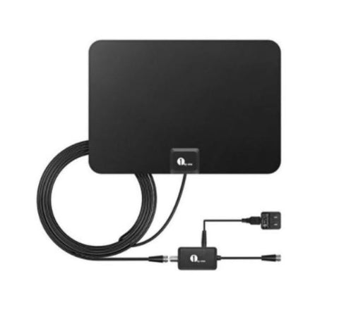 1byone 50-Mile HDTV Antenna TV Signal Amplifier Booster