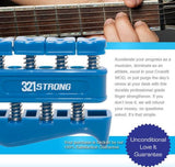 321Strong Finger Hand Strengthener Exercise For Guitar Piano Therapy
