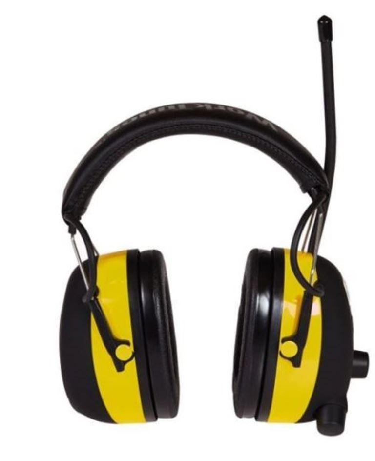 3M 90541-4DC WorkTunes Ear Hearing Noise Protector AM FM MP3 Radio Earmuffs