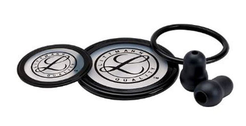 3M Littmann 40003 Stethoscope Spare Parts Kit for Cardiology III Black