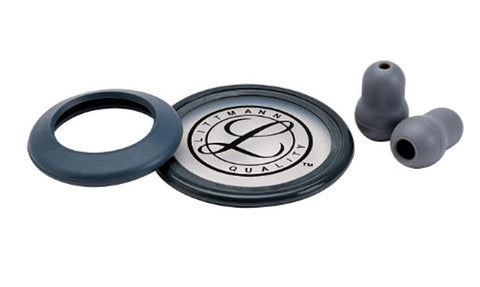 3M Littmann 40006 Stethoscope Spare Parts Kit for Classic II SE Grey