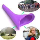 4-PC Portable Female Women Travel Urine Urination Funnel Toilet Urinal