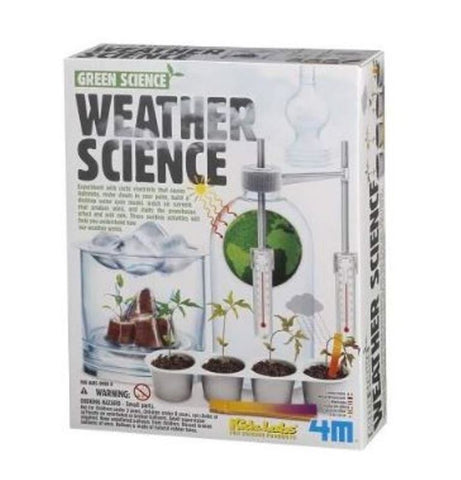 4M Weather Science Station Kit Climate Change Global Warming Educational Toy for Kids Children