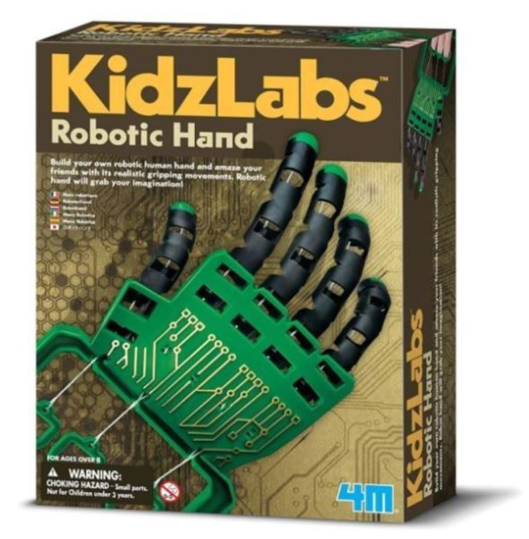 4M Kidzlabz Robotic Hand Fingers Science Educational Toy Kit