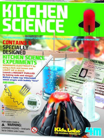 4M Kitchen Science Project Experiment  Educational Toy