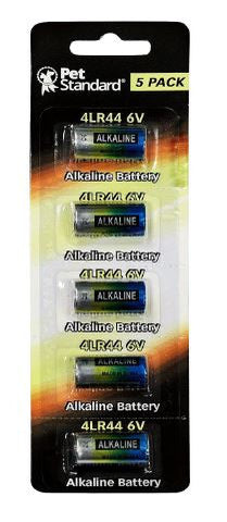 5 Pack Alkaline Battery Petrainer Bark Collar 4LR44 476A PX28A A544 K28A L1325