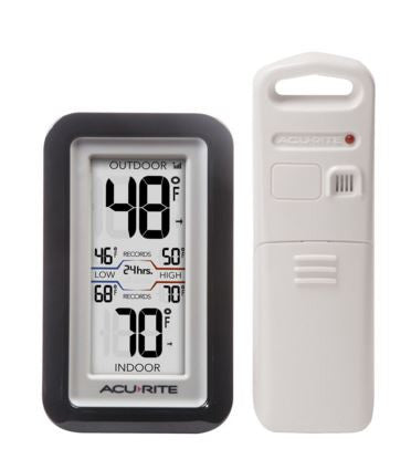 Acurite 02043 Thermometer Indoor Outdoor Temperature Weather