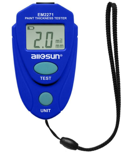 All-Sun Digital Paint Thickness Gauge Meter Car Coating Tester