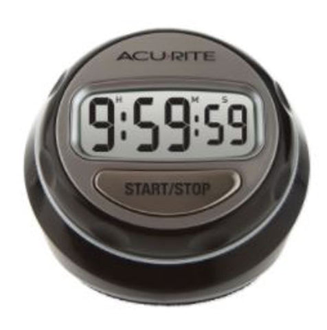 Acurite 00285E Digital Kitchen Cooking Timer Alarm Stop Watch