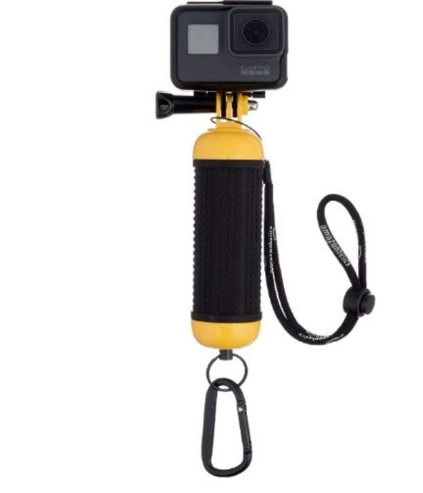 AmazonBasics Floating Waterproof Hand Grip Mount Handle for GoPro Cameras