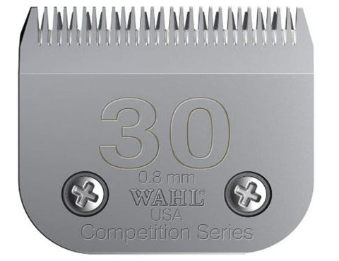 Wahl 2355-100 Competition Series Size 30 Pet Clipper Blade for Andis KM2 KM5 KM10