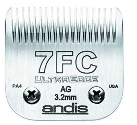 Andis 64121 UltraEdge Size 7FC Pet Clipper Blade for Andis AG AGP AGCL MBG AGRV SMC