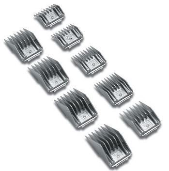 Andis Pet Dog Cat Universal Clipper Combs Cutting Guides 9-Piece